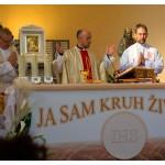 Abschlussmesse mit unseren drei Priestern