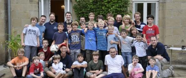 Das Jungencamp vereint Jungs aus ganz Deutschland