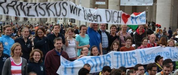 """""""Veni Sancte Spiritus!"""" – Pfingsttreffen der geistlichen Gemeinschaften in Rom"""